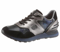 Sneaker ultramarinblau / schwarz / silber