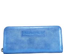 Nicole Sidney Geldbörse 18 cm blau