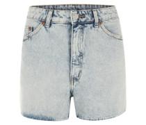 'Donna' Denim Shorts hellblau