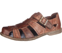 Sandalen 'Kreta 12' braun