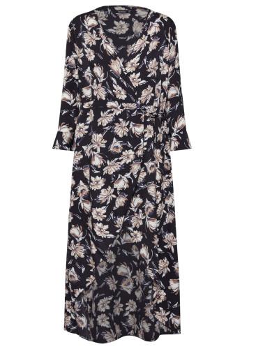 Kleider 'Floral Wrap Maxi Dress'