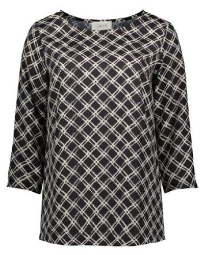 Bluse im trendigen Allover-Muster