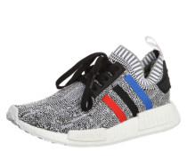 Sneaker 'nmd' blau / rot / schwarz