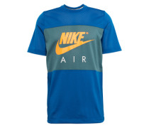 Shirt 'M NSW N TOP Nike AIR SS' blau