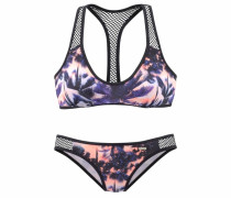Bustier-Bikini lila