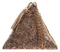 Handtasch 'Pyramid' gold