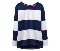 Sweatshirt 'clemence' navy / weiß
