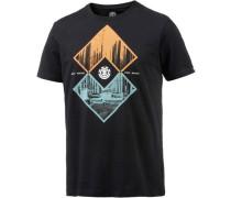 'Intersect' T-Shirt Herren schwarz