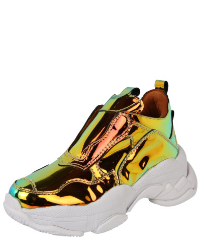 Sneaker 'lo-Fi-2' gold / weiß