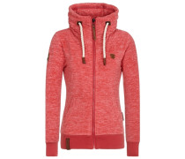 Female Fleece Jacket Redefreiheit? II rot