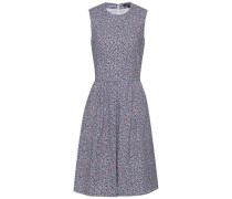 Kleid 'taylor Dress NS' dunkelblau / rot / weiß