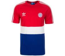 T-Shirt FC Bayern München blau / rot / weiß