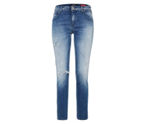 'katewin Hyperflex' Slimfit Jeans blue denim