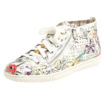 Sneaker mit floralem Print
