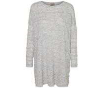 Lässiger Pullover graumeliert