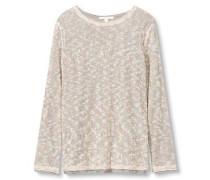 Pullover '2layer' beige / grau