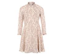 Kleid mit Rüschen 'VMHarly' beige