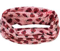 Multifunktionstuch für Mädchen rosa