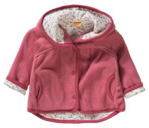 Baby Fleecejacke für Mädchen rosa