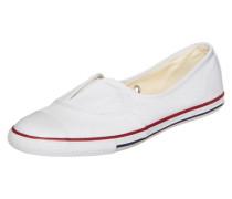 Chuck Taylor All Star Cove Slip OX Sneaker Kinder weiß
