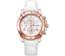 Chronograph »Glam Chrono Wa0203« rosegold / weiß