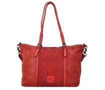 'Betulla Shopper' Tasche 45 cm rot