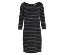 Kleid 'vitinny' schwarz / silber