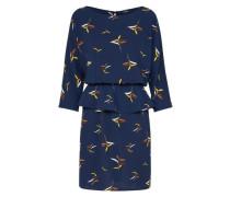 Kleid 'Gitta' dunkelblau / mischfarben