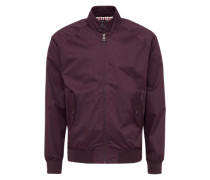 Jacke im Bomber-Stil 'new Core Harrington' merlot