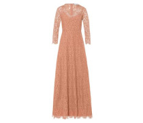 Kleid Flared Lace Dress apricot
