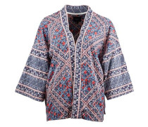 Kimono 'Rayna' creme / blau / rot