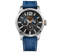 "Multifunktionsuhr ""paris Multieye 1513250"" blau"