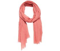 Einfarbiger Schal pink