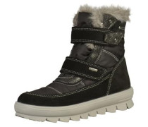 Stiefel grau / schwarz