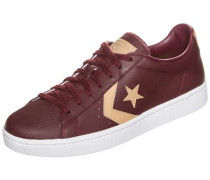 'Pro Leather 76 OX' Sneaker burgunder