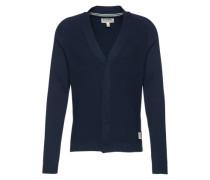 Feinstrickcardigan 'structured cardigan' dunkelblau