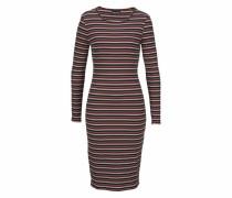 Jerseykleid marine / dunkelgelb / pastellpink / bordeaux