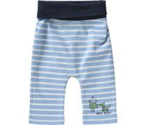 Baby Softbundhose für Jungen blau