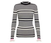 Sweater 'Ronnie' schwarz / weiß