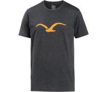 'Möwe' T-Shirt schwarzmeliert