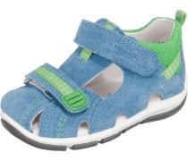 Kinder Sandalen WMS-Weite M4 blau / hellgrün