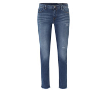 Jeans 'Skin Fit' blue denim