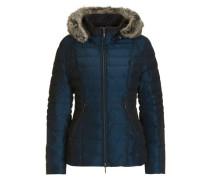 Jacke in modischer Länge blau