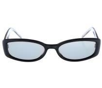 Sonnenbrille hellblau / schwarz / transparent