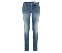 Mid waist 'livier-S' blue denim