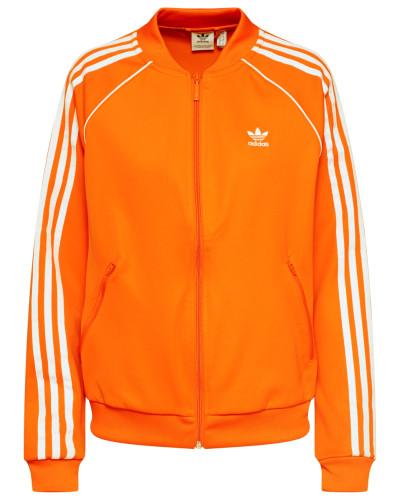 Sweatjacke 'sst' orange