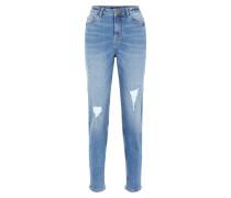 Jeans rauchblau
