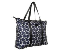 Shopper 'Leilani' blau / weiß
