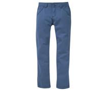 Hose Regular-fit blau