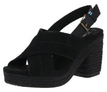 Sandale 'ibiza' schwarz
